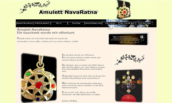 Edelstein-Amulett-NavaRatna